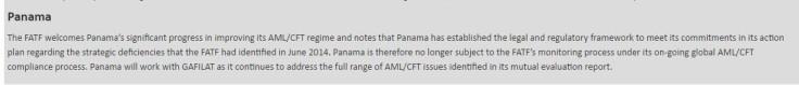 Panama FATF