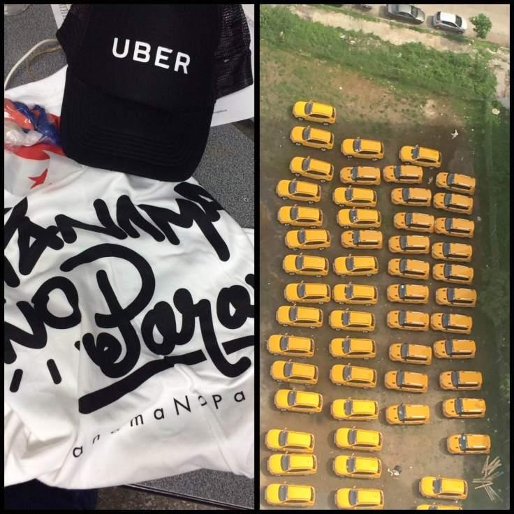 Taxistas Panamá vs. Uber #PanamaNoPara